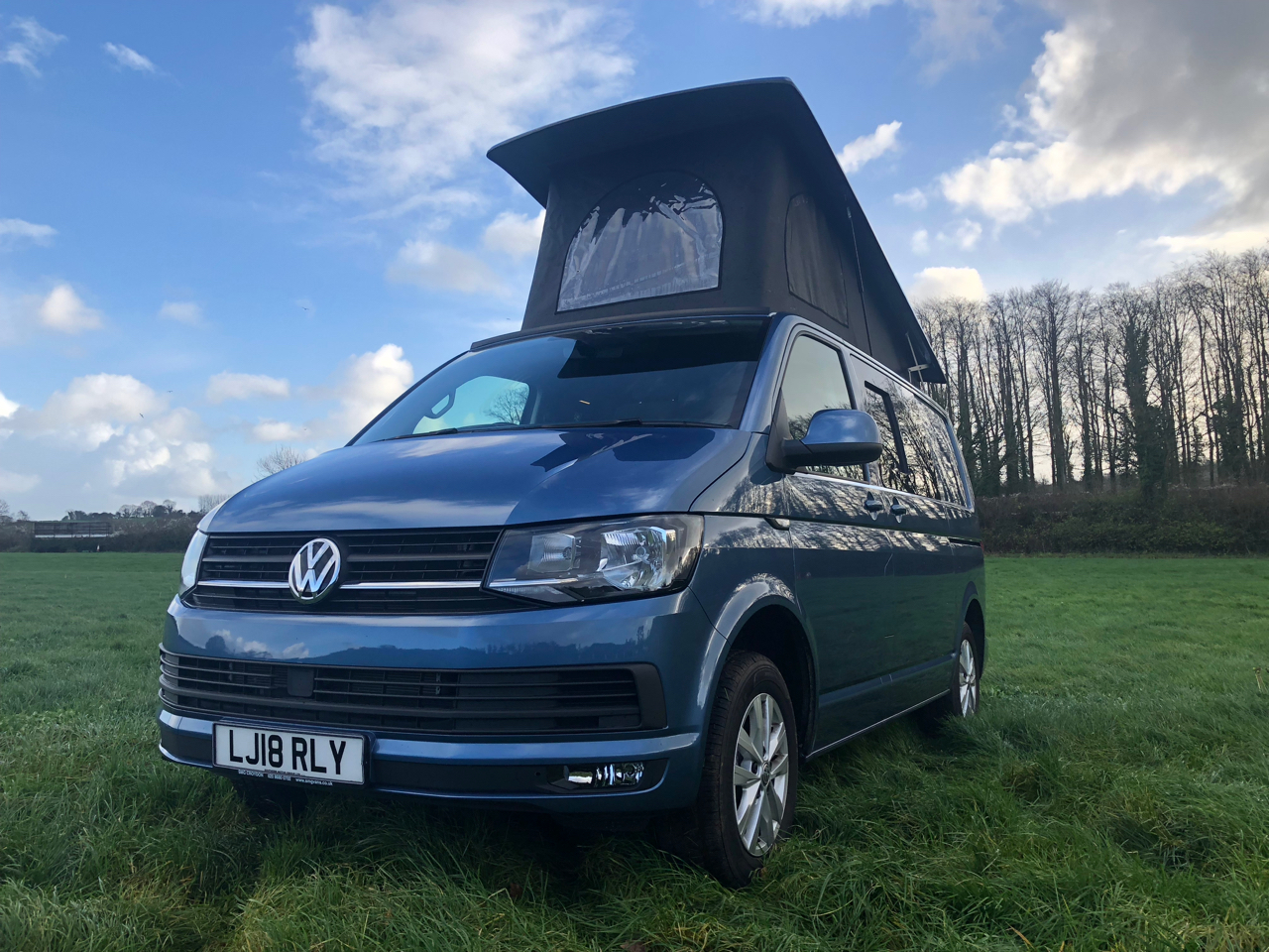ce847fe1ce 18 Plate VW Transporter T6 HIGHLINE 150PS 4 berth Campervan (Tailgate