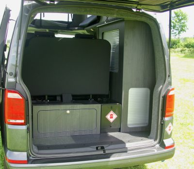 VW Campervan Interior Lockers